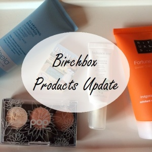 Birchbox products upate
