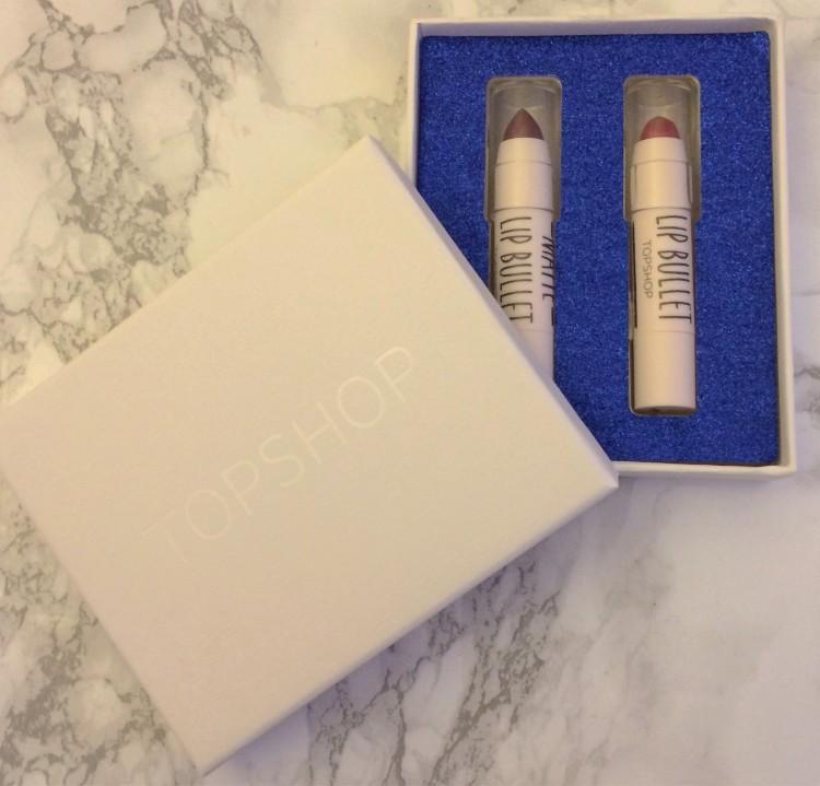 topshop lip bullet gift set