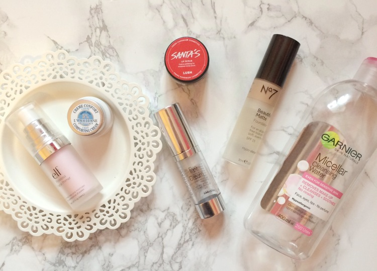 february empties empty products