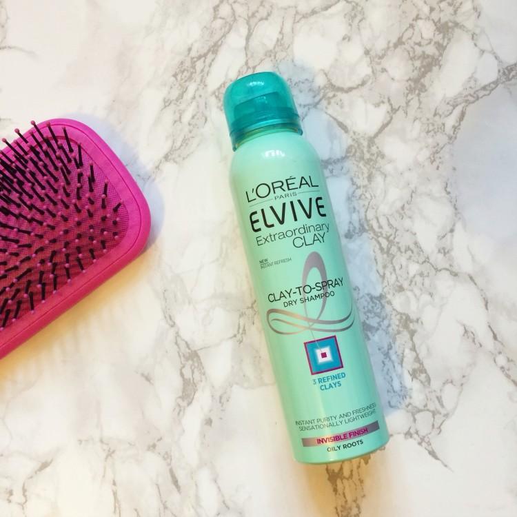 loreal extraordinary clay dry shampoo