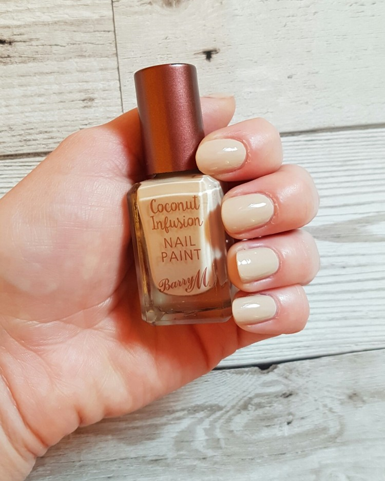 barry m coconut infusion colour starfish
