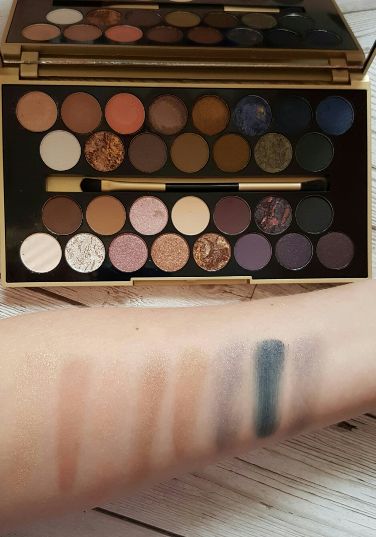 fortune favours the brave swatches line 1