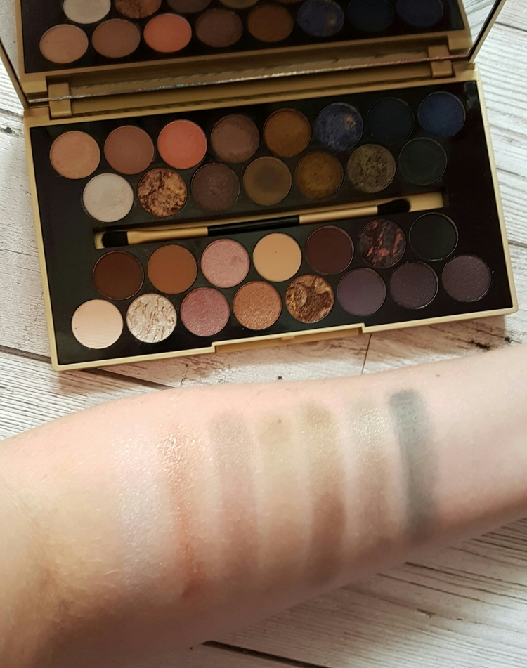 fortune favours the brave swatches line 2