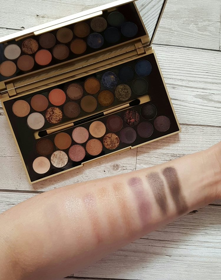 fortune favours the brave swatches line 4