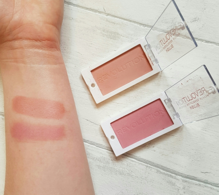 makeup revolution blusher now and love