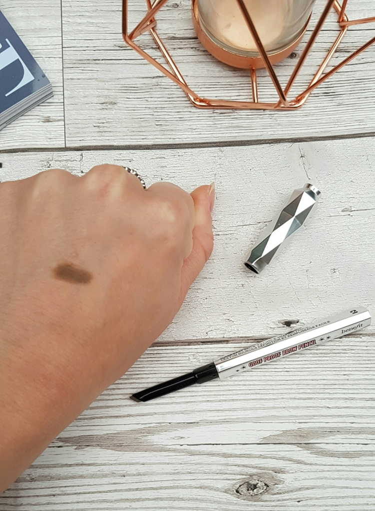 benefit goof proof eyebrow pencil 2 swatch