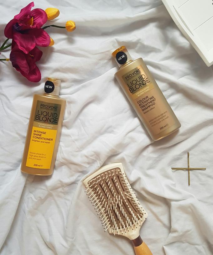 Provoke Liquid Blonde Shampoo and Conditioner