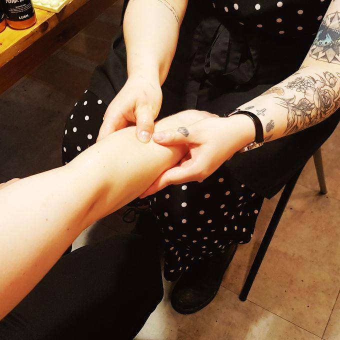 Lush Spa Hand Massage