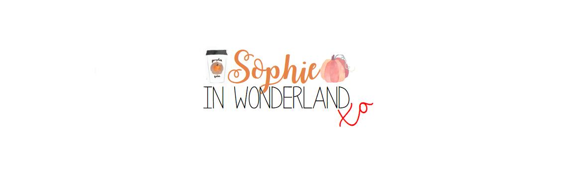 Sophie in Wonderland xo